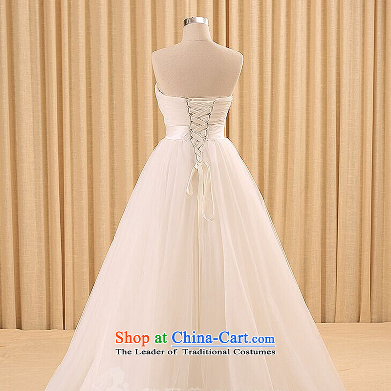 Talk to hernew 2015 tasteful minimalist straps to align the sweet Princess Korean anointed chest wedding dresses whitehoney words to wife S, shopping on the Internet has been pressed.