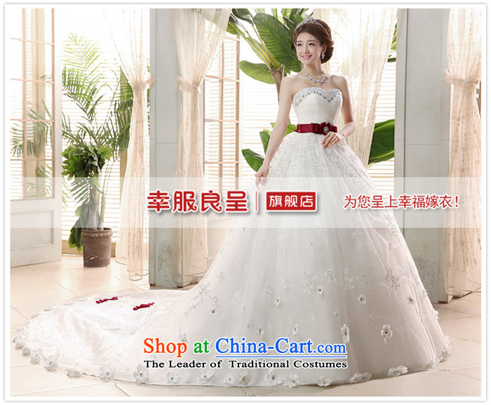 The privilege of serving-leung tail wedding dresses 2015 new marriages Korean sweet Princess Mary Magdalene Chest White - 5 day shipping XL-5 day shipping picture, prices, brand platters! The elections are supplied in the national character of distribution, so action, buy now enjoy more preferential! As soon as possible.