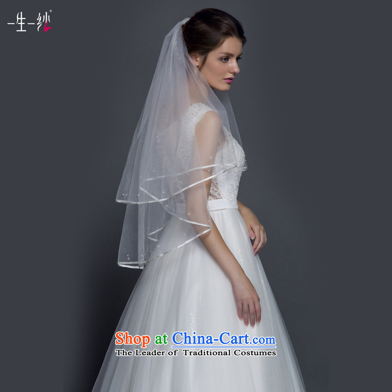 A lifetime of back-ju drill shoulders V-Neck wedding video thin sexy princess bon bon skirt wedding dress autumn 2015 50140085 custom white 155/80A thirtieth day pre-sale