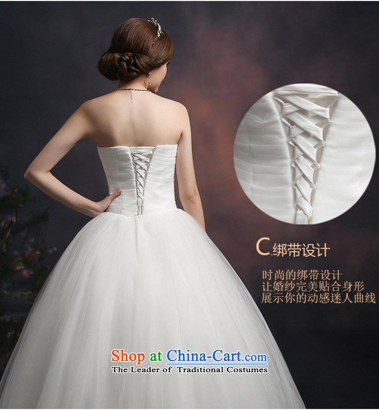 Beverly Ting wedding dresses in spring and summer 2015 new stylish Korean anointed chest wedding video thin straps Sau San alignment of the funds from the white聽M picture, prices, brand platters! The elections are supplied in the national character of distribution, so action, buy now enjoy more preferential! As soon as possible.