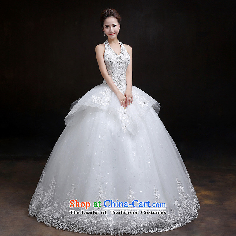 In accordance with the Korean version of the Mount Elizabeth KWAN also diamond jewelry bride wedding dresses wedding dresses new spring 2015 to align the diamond strap wedding are code