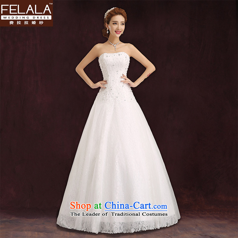 Ferrara聽2015 new wedding lace anointed chest wedding on drill wedding wedding winter_聽2 feet XL_2