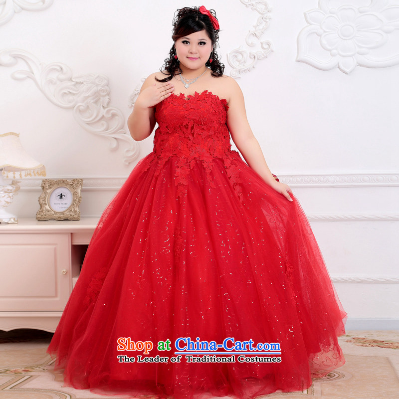 Shared-keun�guijin thick mm King Anointed xl behind the chest straps marriages wedding BHS349 Code Red�XXXL scheduled 3 days from Suzhou Shipment