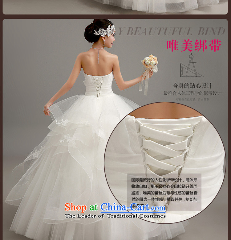 In the early聽2015 new man wedding dresses Korean skirt to align bon bon wedding wiping the chest to align graphics thin princess straps wedding white聽L code picture, prices, brand platters! The elections are supplied in the national character of distribution, so action, buy now enjoy more preferential! As soon as possible.
