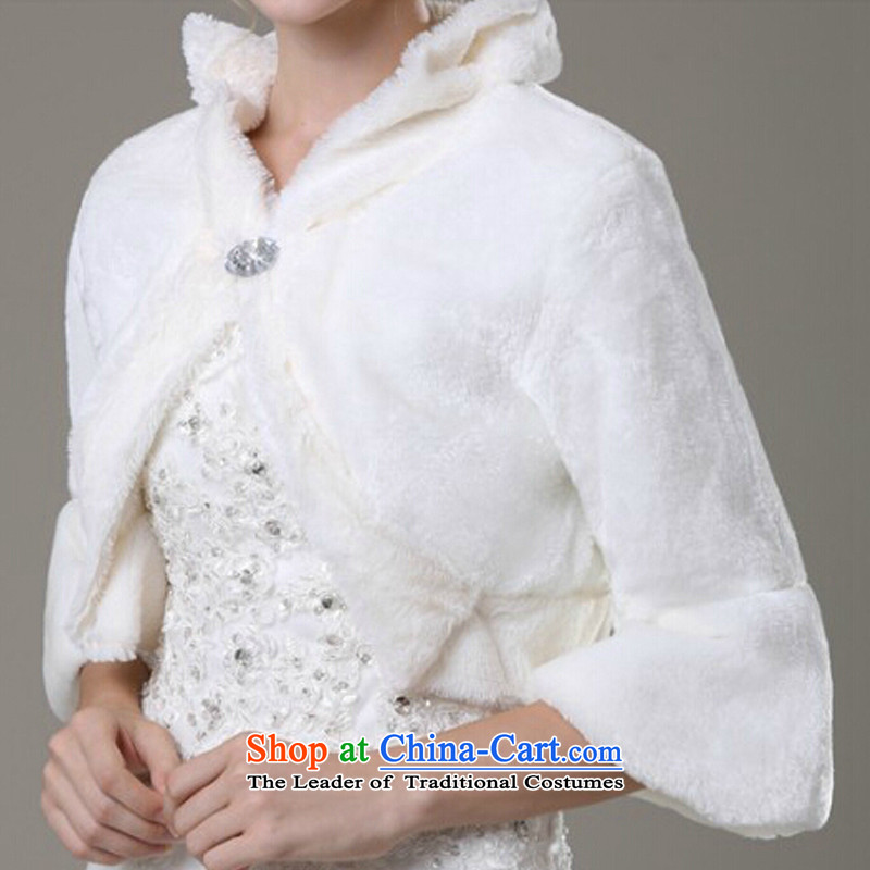 Korean horn cuff mslover velvet marriages gross shawl warm jacket, a weddingFW131109of ivory, Lisa (MSLOVER) , , , shopping on the Internet