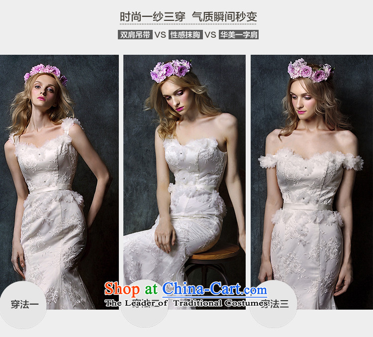 The2015 new HIV Miu light depilation lace chest straps crowsfoot tail bride wedding dress WhiteM picture, prices, brand platters! The elections are supplied in the national character of distribution, so action, buy now enjoy more preferential! As soon as possible.