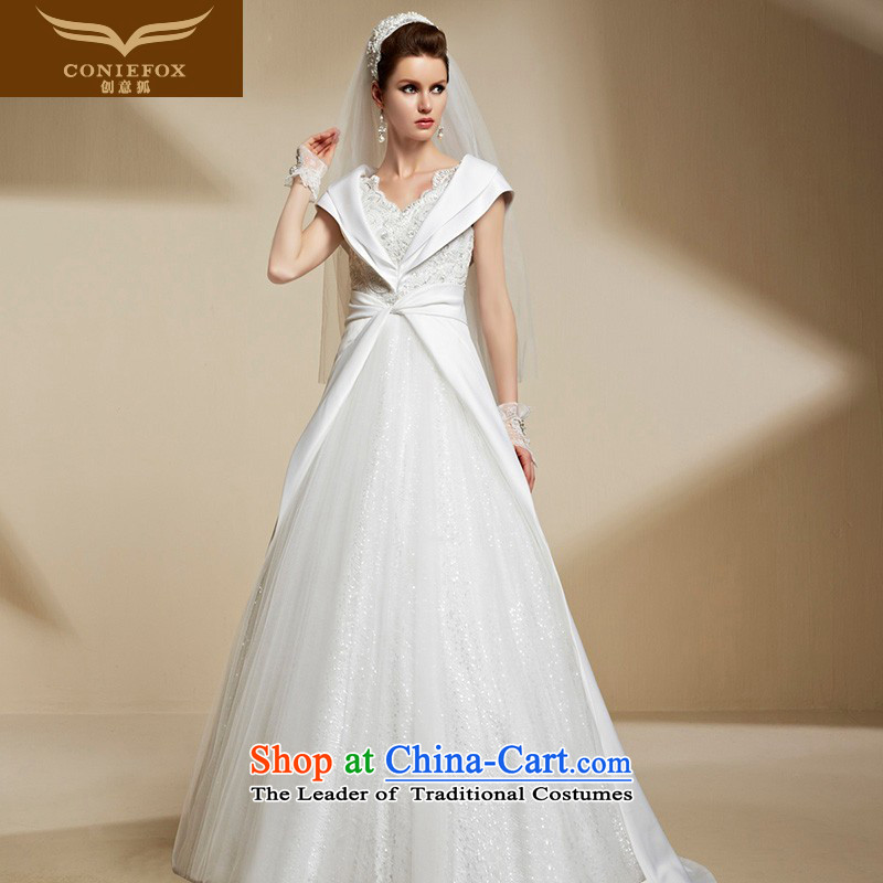Creative New 2015 FOX wedding dresses custom reset process wedding Top Loin of Sau San video thin stylish wedding 90209 winter picture color tailored