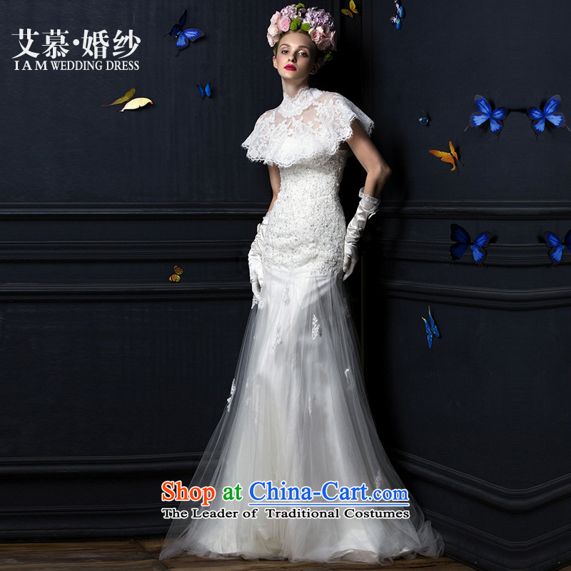 The 2015 new HIV wedding dresses cd Love Mary Magdalene CHEST + shawl�L