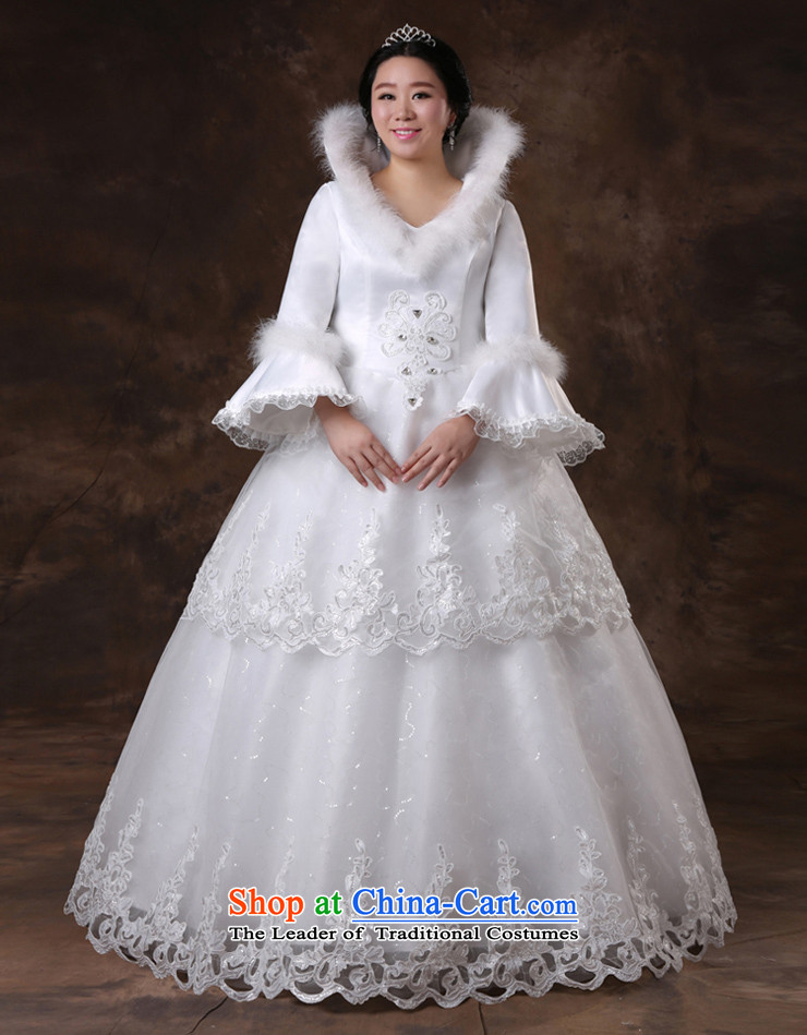 Shared Keun guijin pregnant women Top Loin of winter, long-sleeved video thin xl plus obesity Tien mm wedding m White XXXL scheduled three-day shipment from Suzhou picture, prices, brand platters! The elections are supplied in the national character of distribution, so action, buy now enjoy more preferential! As soon as possible.