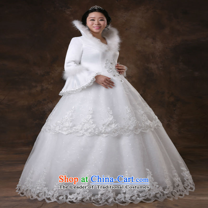 Shared Keun guijin pregnant women Top Loin of winter, long-sleeved video thin xl plus obesity Tien mm wedding m White XXXL scheduled 3 days from Suzhou shipment, shared Keun (guijin) , , , shopping on the Internet