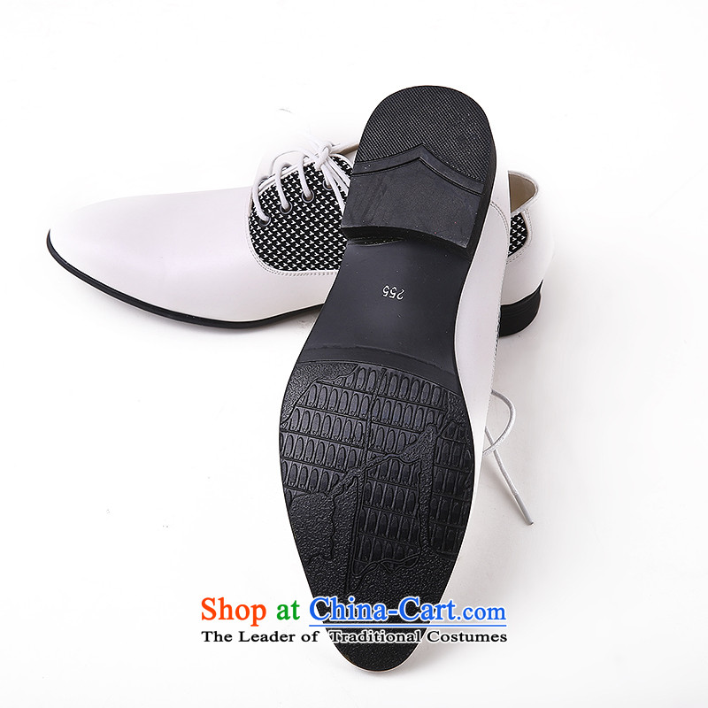 The autumn and winter men shoes, leather strap business round head leather ladys shoes and leather of the breathable genuine English shoe marriage shoes cinnabar red 43 Oi Yin Peng (AIRANPENG) , , , shopping on the Internet