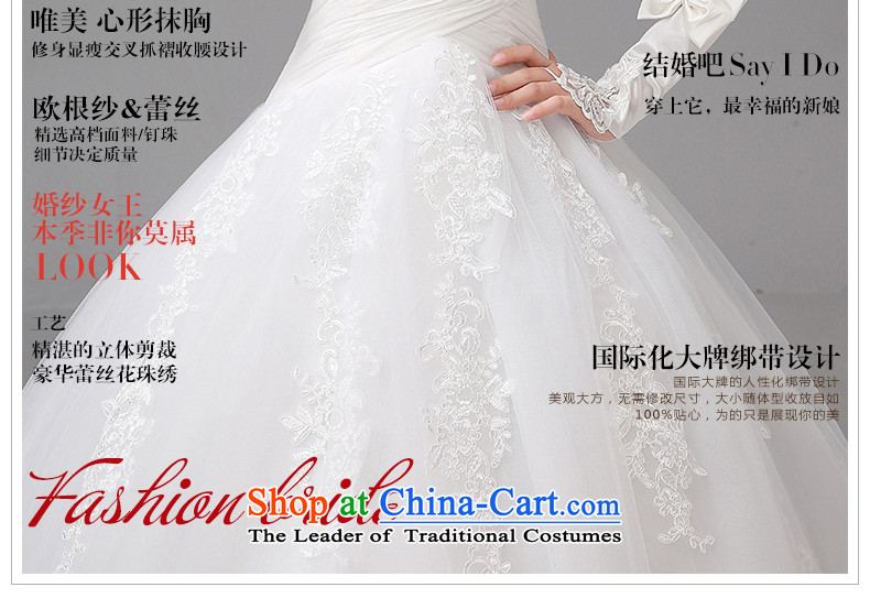 The HIV NEW 2015 wedding dress sweet lace anointed chest Korean video thin straps Sau San marriages to align the princess yarn H-36 white L picture, prices, brand platters! The elections are supplied in the national character of distribution, so action, buy now enjoy more preferential! As soon as possible.