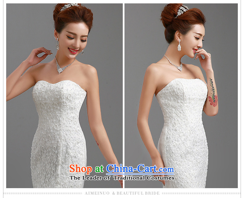 Hiv Miele Wedding 2015 new stylish wedding dresses strap small trailing Princess Sau San video lace anointed chest thin package and skirt H-84 crowsfoot White XL Photo, prices, brand platters! The elections are supplied in the national character of distribution, so action, buy now enjoy more preferential! As soon as possible.