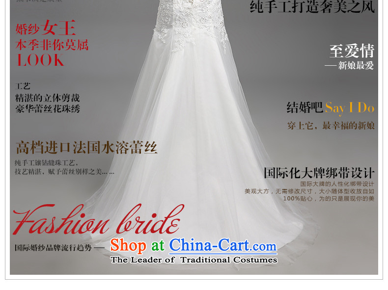 Hiv Miele wedding dresses 2015 new lace wiping the chest straps belt diamond Korean graphics package and Sau San thin princess yarn tail H-86 small white XL Photo, prices, brand platters! The elections are supplied in the national character of distribution, so action, buy now enjoy more preferential! As soon as possible.