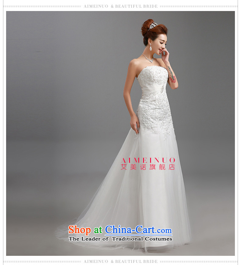 Hiv Miele wedding dresses 2015 new lace wiping the chest straps belt diamond Korean graphics package and Sau San thin princess yarn tailH-86 smallwhiteXL Photo, prices, brand platters! The elections are supplied in the national character of distribution, so action, buy now enjoy more preferential! As soon as possible.