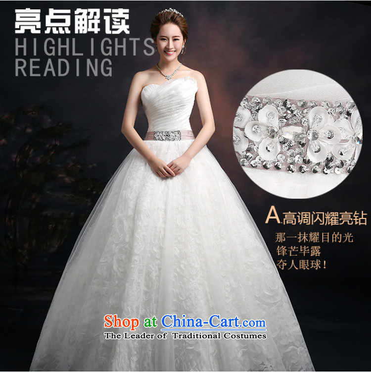 Beverly Ting 2015 new spring and summer and autumn wedding chest Korean modern marriages straps wedding dresses to align graphics Sau San thin white聽L picture, prices, brand platters! The elections are supplied in the national character of distribution, so action, buy now enjoy more preferential! As soon as possible.