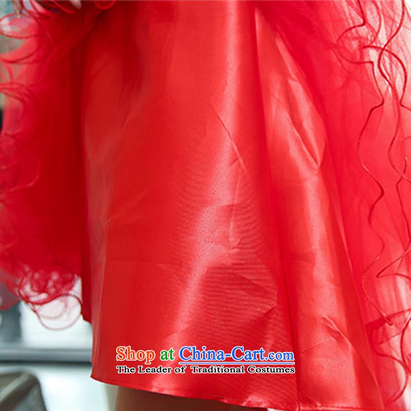 Use the new 2014 Shu Doi Tung Small dress winter wedding dresses bridal dresses bridesmaid bows services wedding dresses with small shawl 9999 large red, L, L'Tai Kiu , , , shopping on the Internet