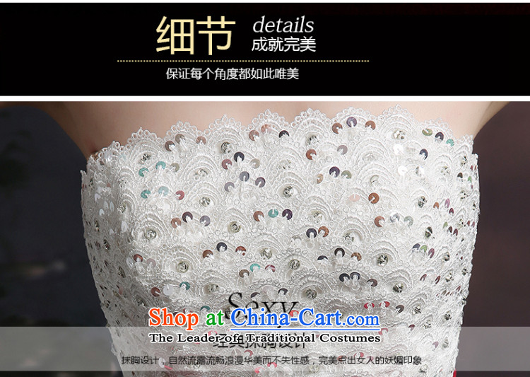 Beverly Ting 2015 new stylish wedding dresses and chest wedding video thin Foutune of big bow tie straps to align bon bon skirt white L picture, prices, brand platters! The elections are supplied in the national character of distribution, so action, buy now enjoy more preferential! As soon as possible.