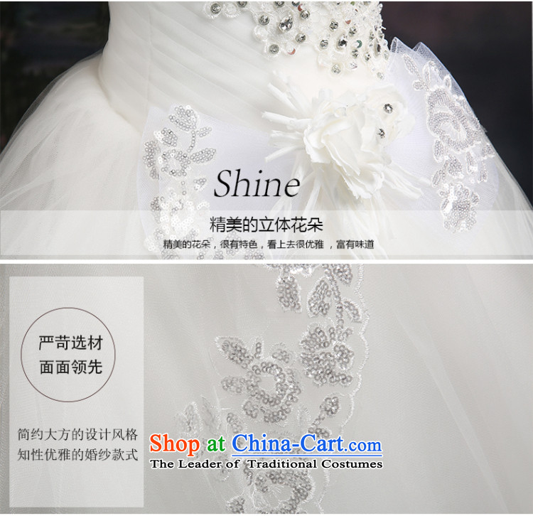 Beverly Ting 2015 new wedding video thin autumn Korean wiped Sau San chest wedding dresses diamond larger straps to align, whiteL picture, prices, brand platters! The elections are supplied in the national character of distribution, so action, buy now enjoy more preferential! As soon as possible.