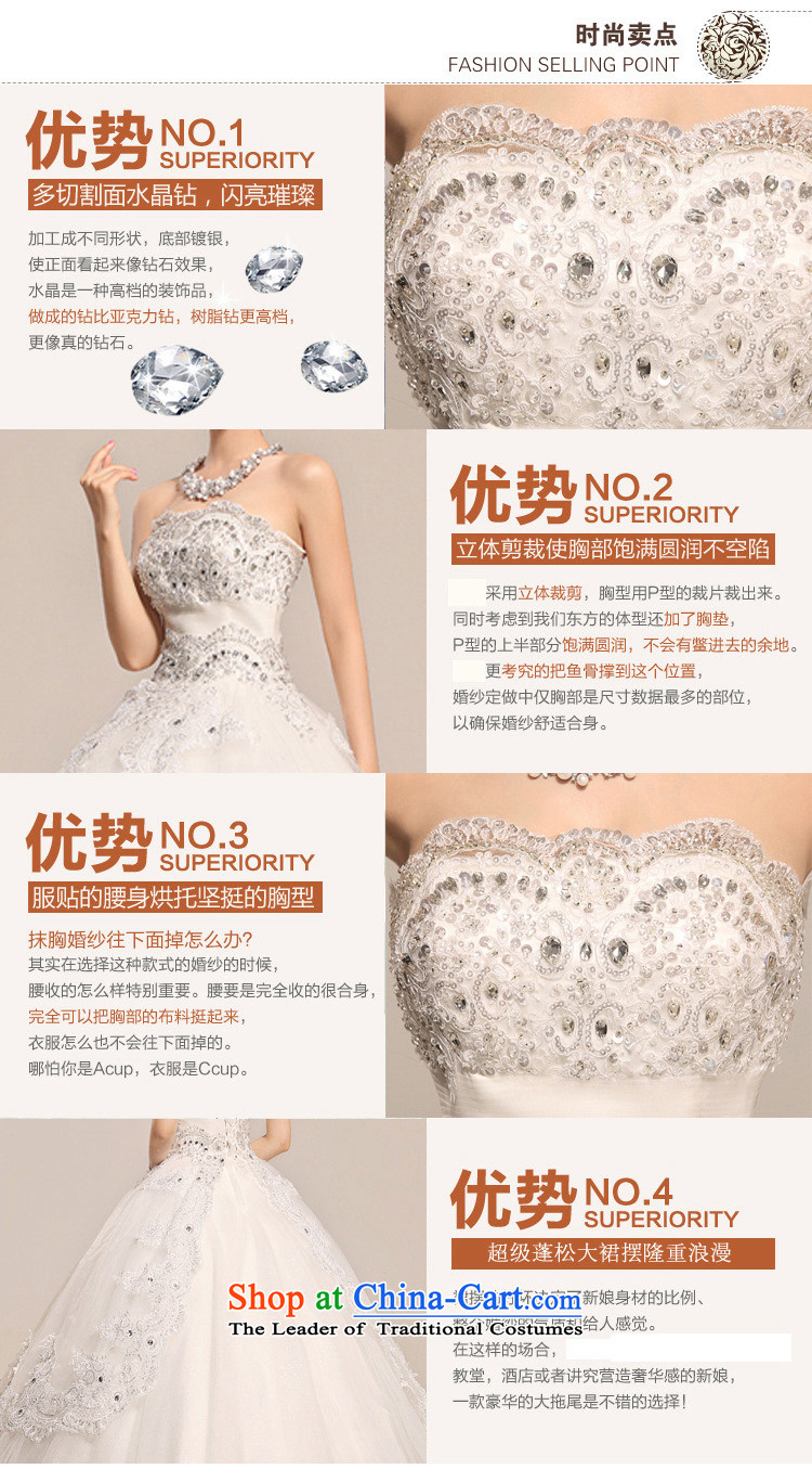 The end of the light (QM) lights are decorated with chest lace noble pregnant women Top Loin of wedding dresses CTX HS033 m White XL Photo, prices, brand platters! The elections are supplied in the national character of distribution, so action, buy now enjoy more preferential! As soon as possible.