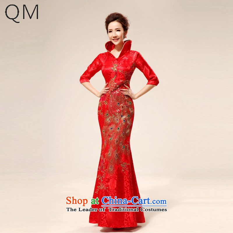 The end of the light (QM) back door onto the design of the ceremonial dress red dress�CTX QP71 load bows�red�S