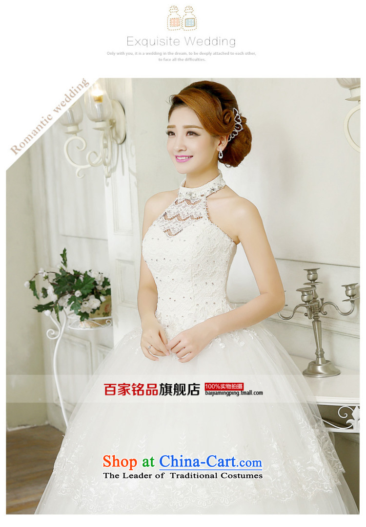 The bride wedding dresses hang also new stylish Sweet Korean 2015 alignment with large numbers to bind video thin lace diamond bon bon skirt wedding white L picture, prices, brand platters! The elections are supplied in the national character of distribution, so action, buy now enjoy more preferential! As soon as possible.