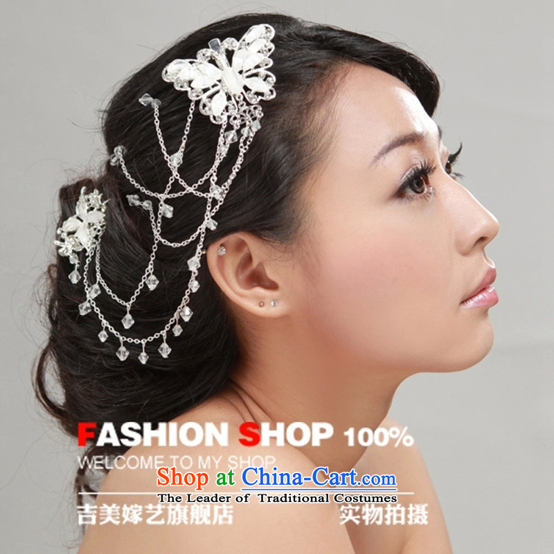 The bride wedding dresses accessories kit Korean style Floral Hairpiece TH2000/2015 new marriage head floralwhite