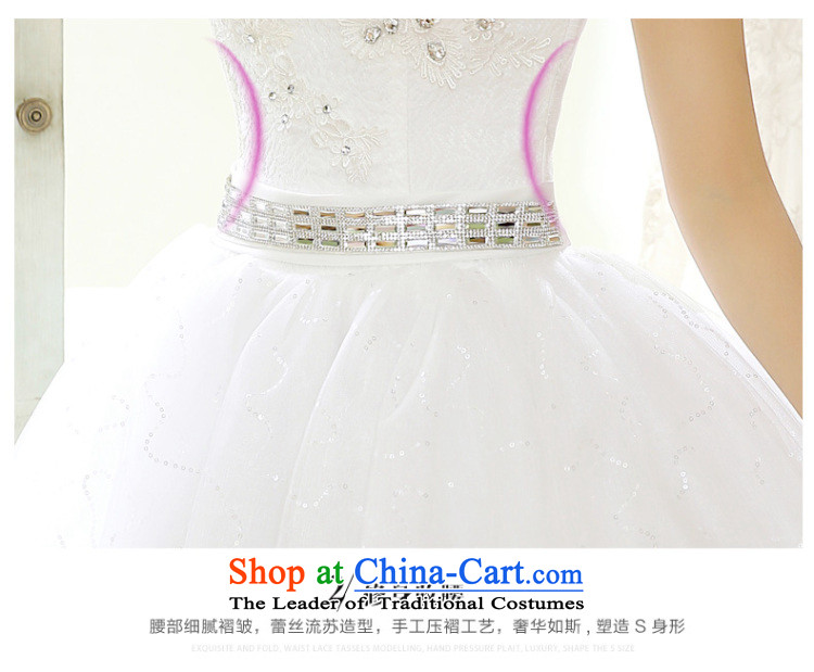 Wedding dressesautumn 2015 new stylish and chest straps lace diamond bride shoulder larger word graphics thin bon bon skirt wedding pregnant women Top Loin of custom whiteS picture, prices, brand platters! The elections are supplied in the national character of distribution, so action, buy now enjoy more preferential! As soon as possible.