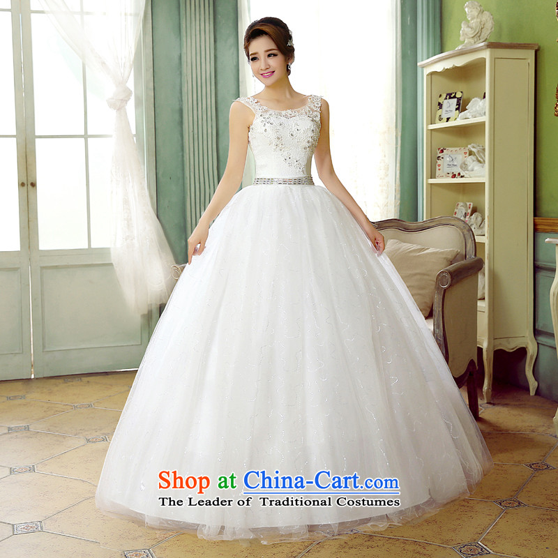Wedding dressesautumn 2015 new stylish and chest straps lace diamond bride shoulder larger word graphics thin bon bon skirt wedding pregnant women Top Loin of custom whiteS, hundreds of Ming products , , , shopping on the Internet