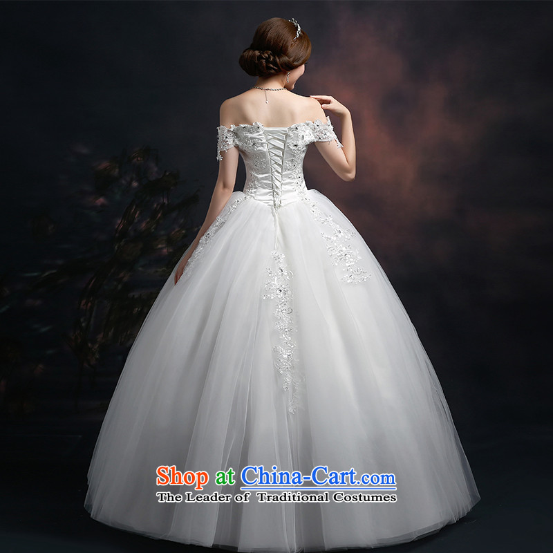 Lily Dance 2015 autumn and winter new wedding dresses marriages wedding shoulders retro lace wedding a field to align the shoulder straps graphics thin white wedding dresses tailored, Lily Dance (ball lily shopping on the Internet has been pressed.)