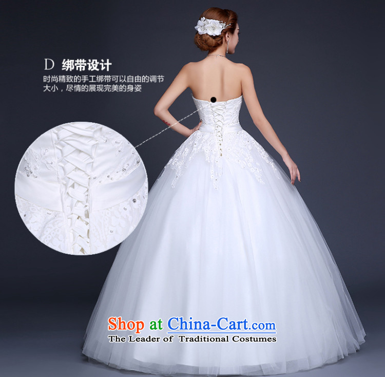 Lily Dance wedding dresses new 2015 Summer Wedding Korean wedding to align the wedding and chest bride wedding code wedding pregnant women wedding dresses white L picture, prices, brand platters! The elections are supplied in the national character of distribution, so action, buy now enjoy more preferential! As soon as possible.