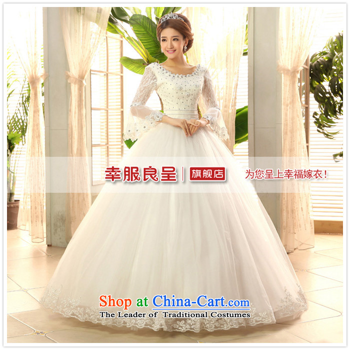 2015 new service-leung won the honor of Princess Bride long-sleeved horn version wedding dress to align the sweet wedding dress White XL Photo, prices, brand platters! The elections are supplied in the national character of distribution, so action, buy now enjoy more preferential! As soon as possible.