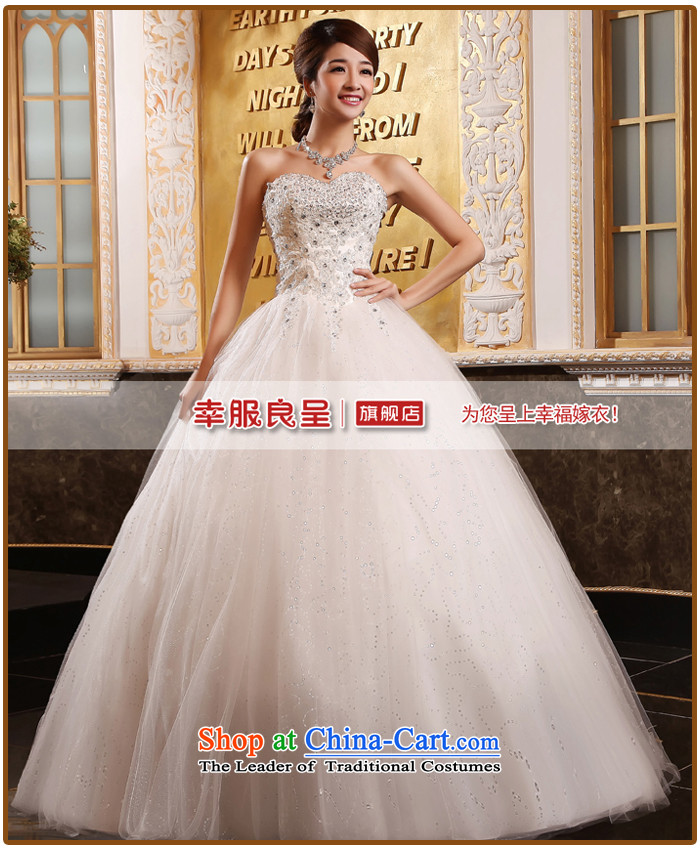 The privilege of serving-leung Korean straps and chest wedding dress to align bon bon diamond wedding dress Sau San New 2015 white pictures, prices, S brand platters! The elections are supplied in the national character of distribution, so action, buy now enjoy more preferential! As soon as possible.