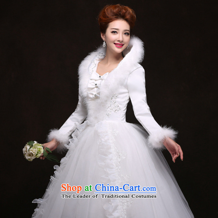 There is also optimized 8D to align the winter wedding dresses long-sleeved winter) folder cotton YFTK2085 White XL Photo, prices, brand platters! The elections are supplied in the national character of distribution, so action, buy now enjoy more preferential! As soon as possible.
