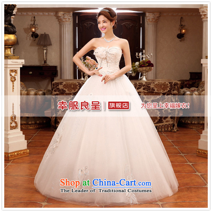 The privilege of serving-leung 2015 new Korean Bridal Fashion Princess Mary Magdalene chest to sweet wedding dress wedding dress WhiteXXL picture, prices, brand platters! The elections are supplied in the national character of distribution, so action, buy now enjoy more preferential! As soon as possible.