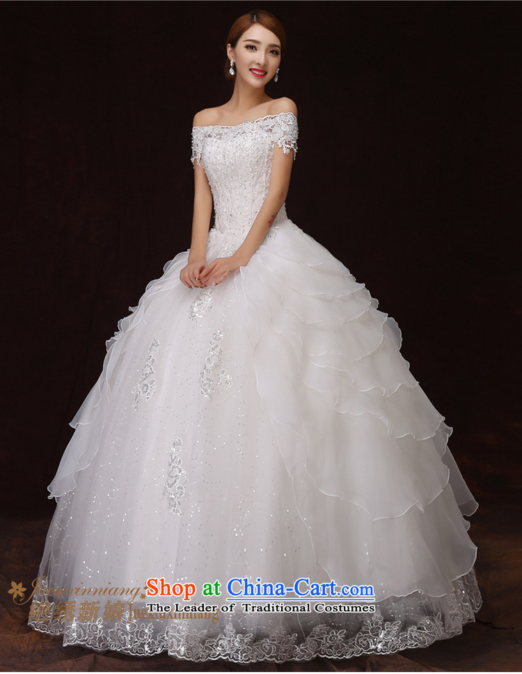 No new 2015 bride embroidered retro graphics word thin lace stereo flower shoulder bon bon princess skirt wedding white L 2 feet 1 waist Suzhou picture, prices, Ship Brand platters! The elections are supplied in the national character of distribution, so action, buy now enjoy more preferential! As soon as possible.