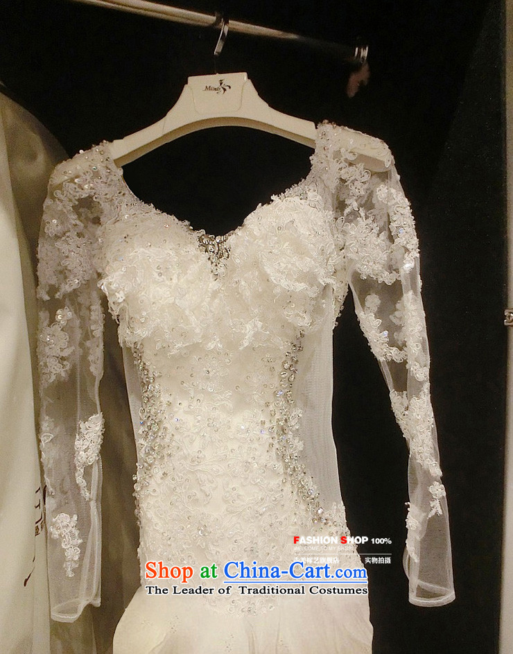 Pre-sale - wedding dresses Kyrgyz-american married new Korean arts 2015 version of winter long-sleeved stylish lace 7,687 widows' tails bride wedding 1.5 m tail S picture, prices, brand platters! The elections are supplied in the national character of distribution, so action, buy now enjoy more preferential! As soon as possible.