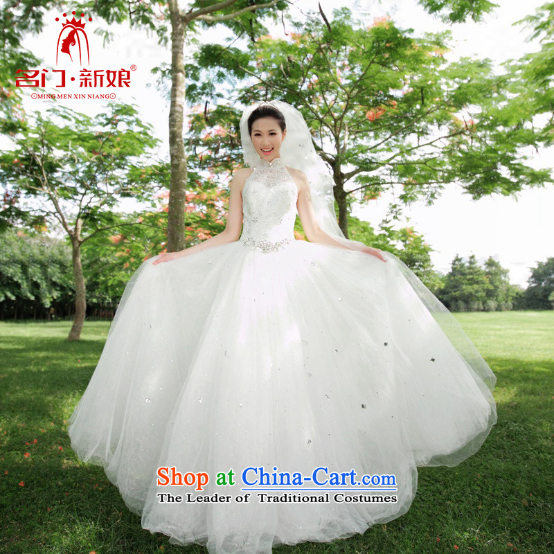 A bride wedding dresses new 2015 Korean sweet hang also align the princess to bon bon spring wedding 867 L