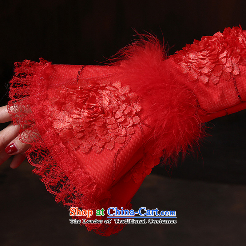 Doi m Qi New 2014 winter Princess cuff gross for long-sleeved thick strap clip cotton wedding winter clothing red wedding servicesXXL, marriages bows Demi Moor Qi , , , shopping on the Internet