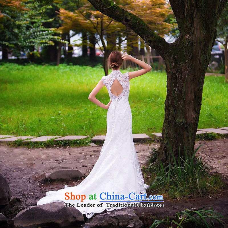 A Bride wedding dresses new 2015 new stylish wedding crowsfoot wedding bride wedding 863 L, a bride shopping on the Internet has been pressed.