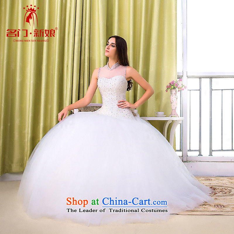 A Bride wedding dresses new stylish retro wedding 2015 Peter Pan collar manually drill 597 M