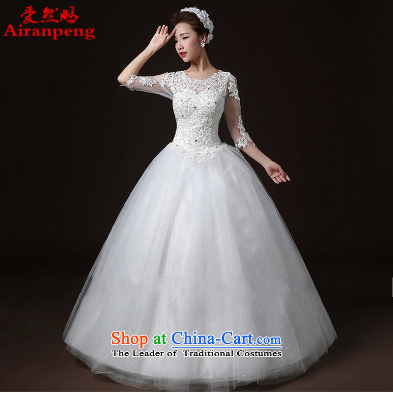 Love So Peng new stylish wedding dresses simple word bride Sau San your shoulders to bride wedding?package returning XL