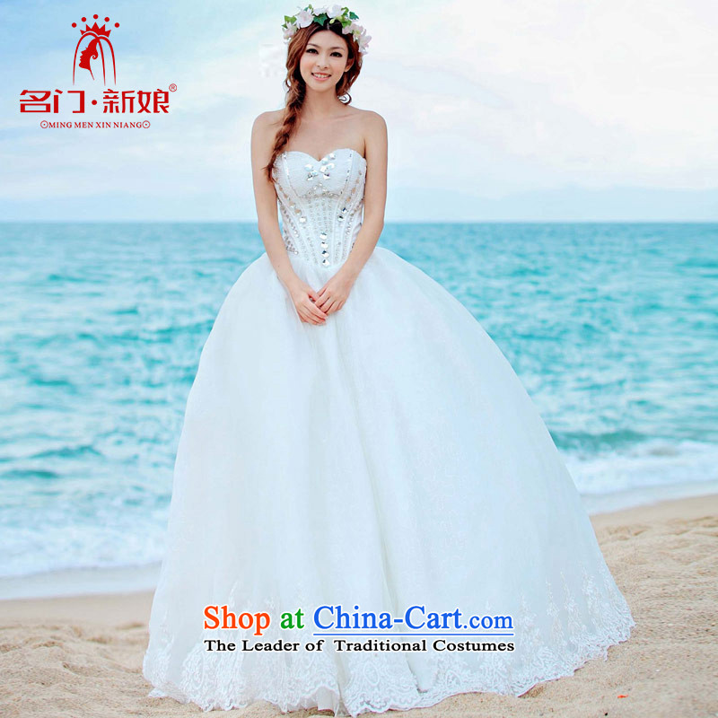 A bride wedding luxury water drilling wedding to align the princess Korean Bridal Suite?2015 new?917 L