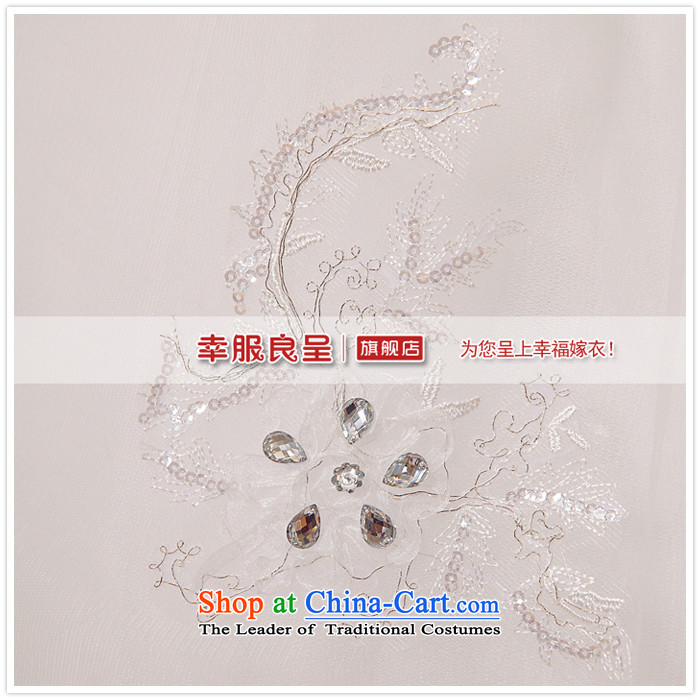 The privilege of serving-leung 2015 new bride Korean stylish wedding dress wiping the chest diamond align to Sau San Tie White XXL pictures wedding, prices, brand platters! The elections are supplied in the national character of distribution, so action, buy now enjoy more preferential! As soon as possible.