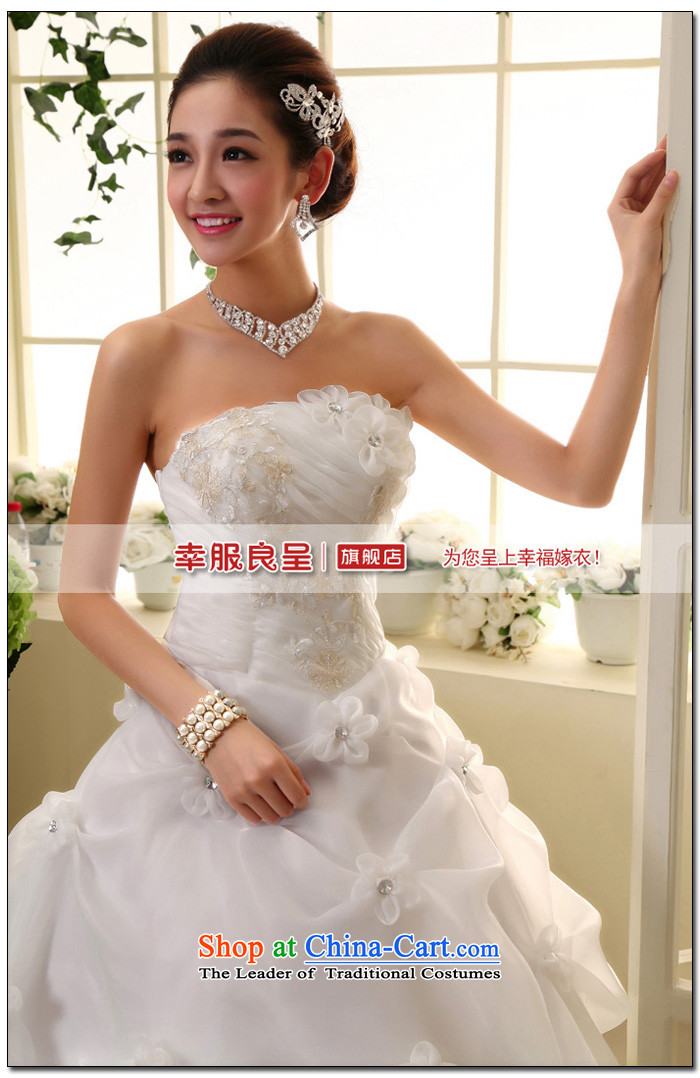 The privilege of serving-leung new Korean Bridal Fashion 2015 wedding dress princess sweet words to his chest wedding dress聽XXXL white picture, prices, brand platters! The elections are supplied in the national character of distribution, so action, buy now enjoy more preferential! As soon as possible.