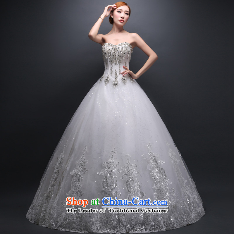 Hei Kaki wedding dresses new 2015 autumn and winter and stylish wedding large video chest thin snap to bind with wedding ivory聽S