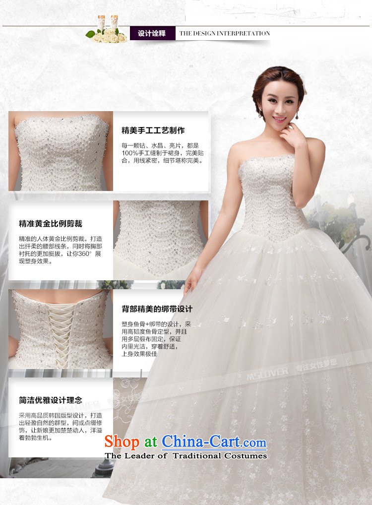 To align the Korean mslover straps bride wedding Princess Foutune of video thin nail pearl wedding manually sweet anointed chest lace wedding HS131005 rice white M 2 ft 1) picture waistline, prices, brand platters! The elections are supplied in the national character of distribution, so action, buy now enjoy more preferential! As soon as possible.