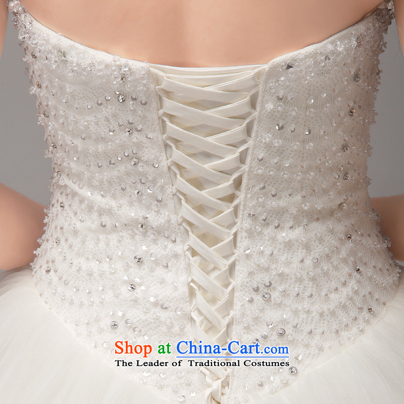 To align the Korean mslover straps bride wedding Princess Foutune of video thin nail pearl wedding manually sweet anointed chest lace wedding HS131005 rice white M 2 ft 1) Name of the waist of Lisa (MSLOVER) , , , shopping on the Internet