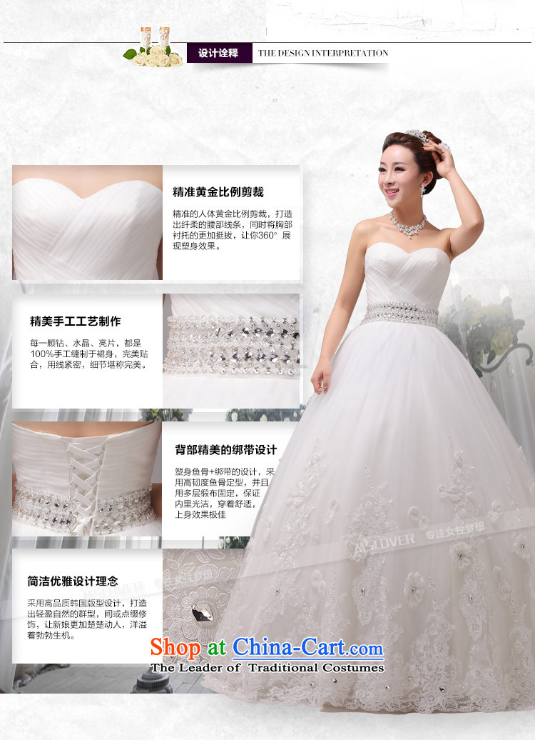 Large tail mslover wedding Princess Bride wedding anointed chest Diamond Video thin wedding custom Korea wedding HS131001XS( to align the waist 1 foot 9) Picture, prices, brand platters! The elections are supplied in the national character of distribution, so action, buy now enjoy more preferential! As soon as possible.