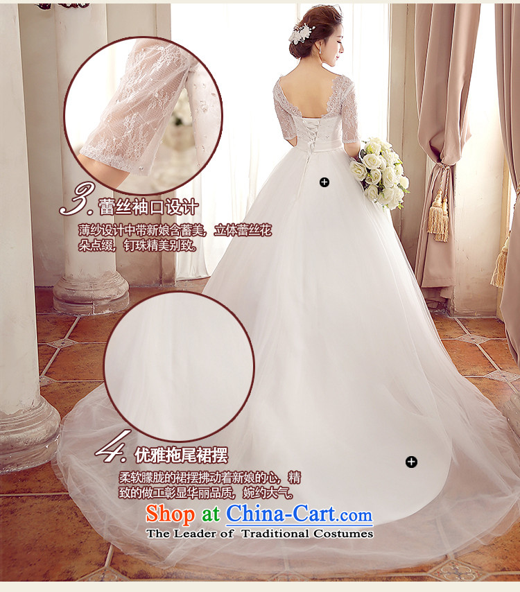 2015聽new Korean irrepressible lace Nail-tail pearl bride wedding聽pictures, 9 feet S(1 price, brand platters! The elections are supplied in the national character of distribution, so action, buy now enjoy more preferential! As soon as possible.